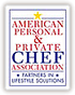 Member of American Personal & Private Chef Association